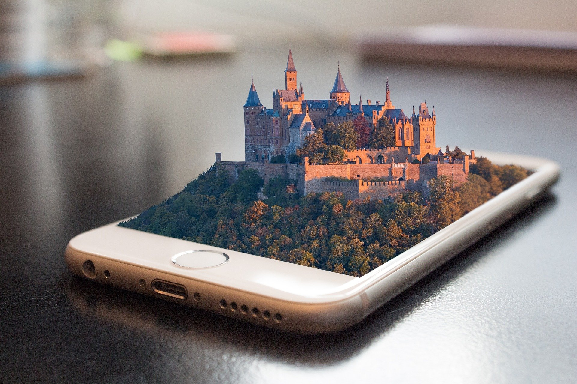 мобильный 3d